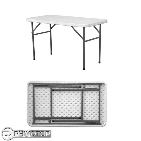 RhinoTop Table 4 ft straight
