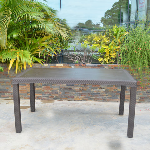 "Rimax Resin Table 31""x59"""