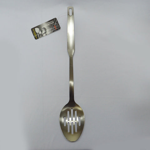 Stainless Steel Slotted Spoon 35cm