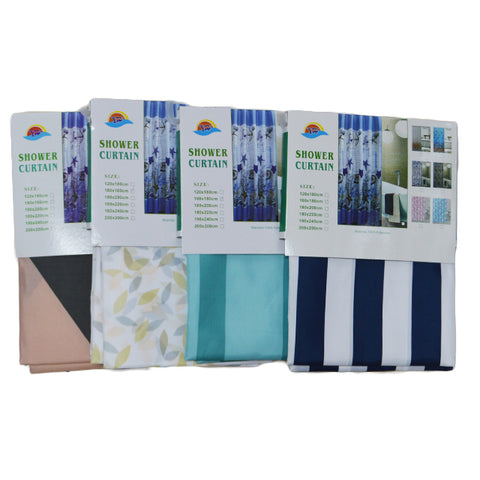 "Fabric Shower Curtain 72""x72"""
