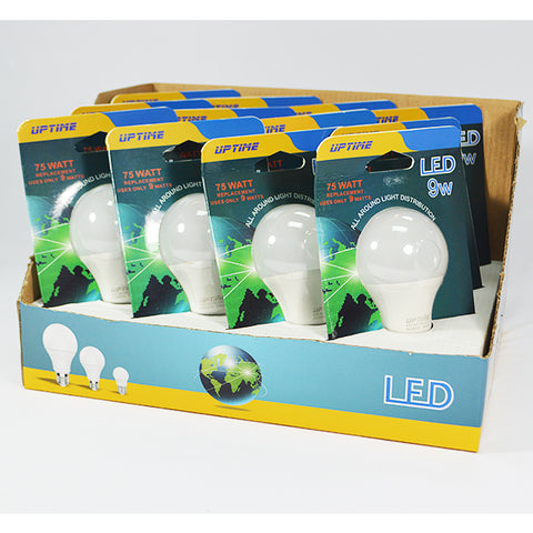 Up Time Led Bulbs 9W (75W) Daylight 1pk