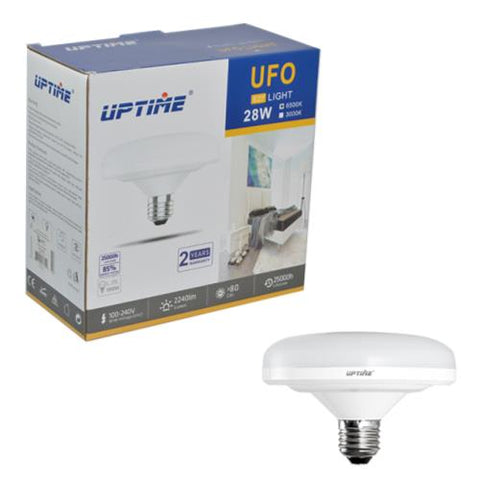 Up Time UFO Led Bulbs 28W Daylight 1pk E27