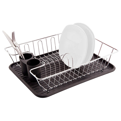 3pc Dish Drainer Set