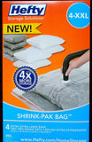 Hefty shrink pak bag XXL 4pk