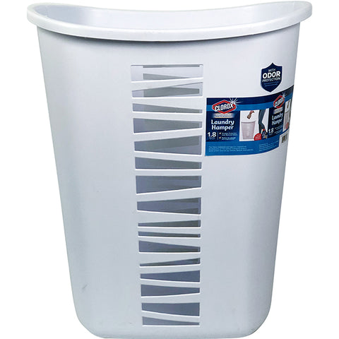 Clorox 65L Tall Laundry Hamper (White)