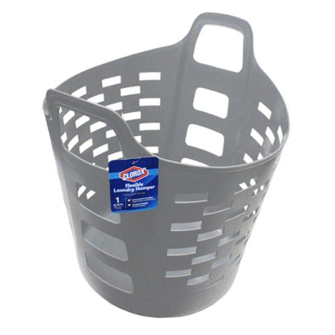 Clorox 35L Flexi Laundry Hamper (Grey)