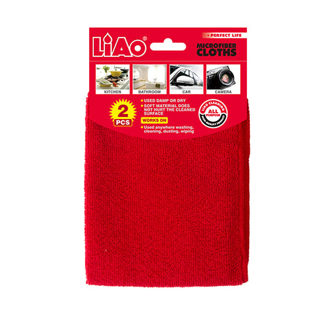 Liao Microfiber Cleaning Cloths 2pk