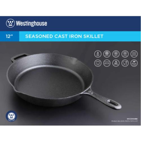 "Westinghouse 12"" Frying Pan Cast Iron"