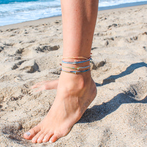 [Double the Better] Double Beauty Anklet