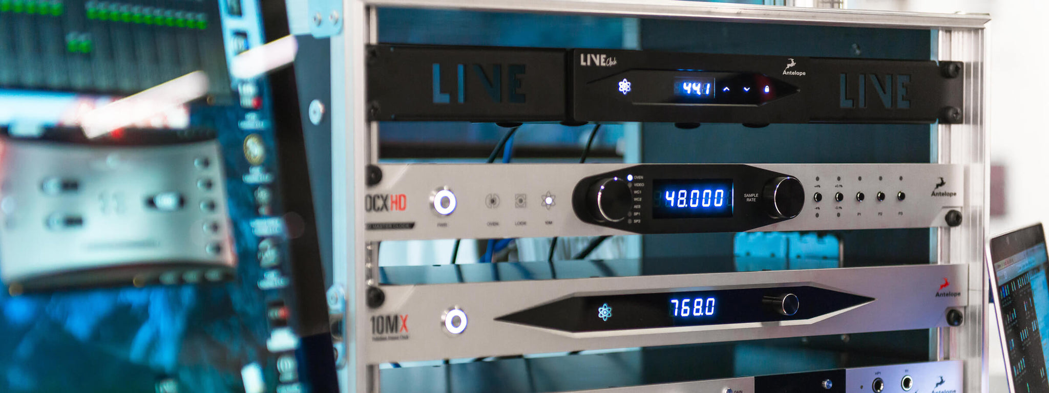 Antelope Audio | LiveClock | India | Bhalerao Enterprises