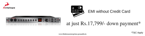 Antelope Audio | Discrete 8 AFX | Buy Now, Pay Later | India | Bhalerao Enterprises