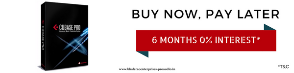Steinberg | Cubase Pro 9 | Buy Now, Pay Later | India | Bhalerao Enterprises