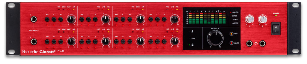 Focusrite | Clarett 8PreX | India | Bhalerao Enterprises