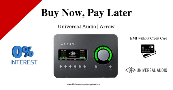 Universal Audio | Arrow | India | Bhalerao Enterprises