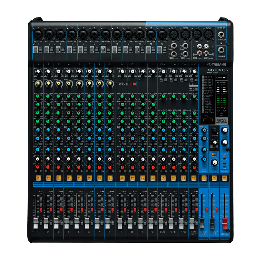 Yamaha | MG20XU Mixing Console | India | Bhalerao Enterprises