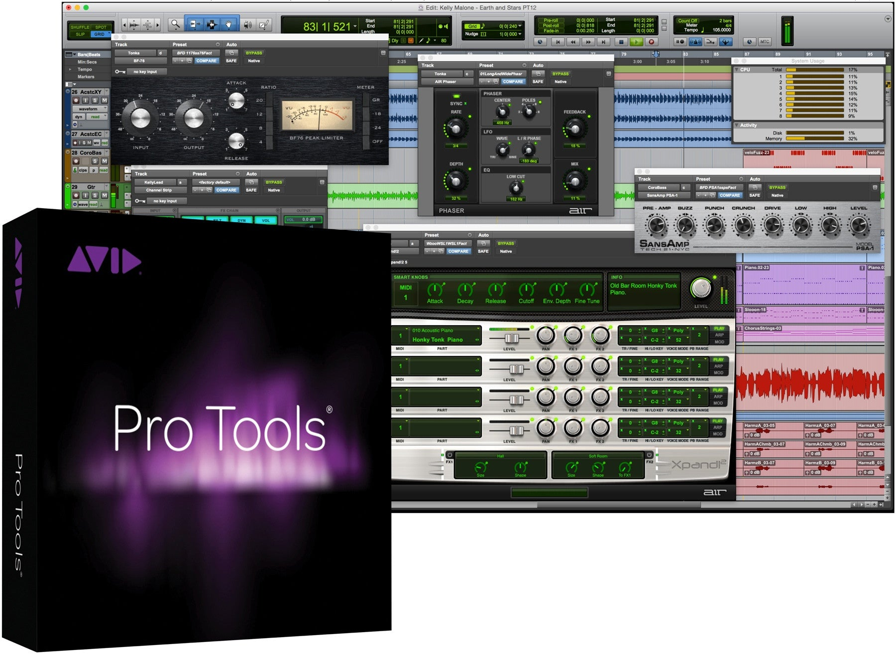 Avid | Pro Tools 2018 with Annual Upgrade and Support Plan