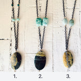 Bumble Bee Jasper Necklaces