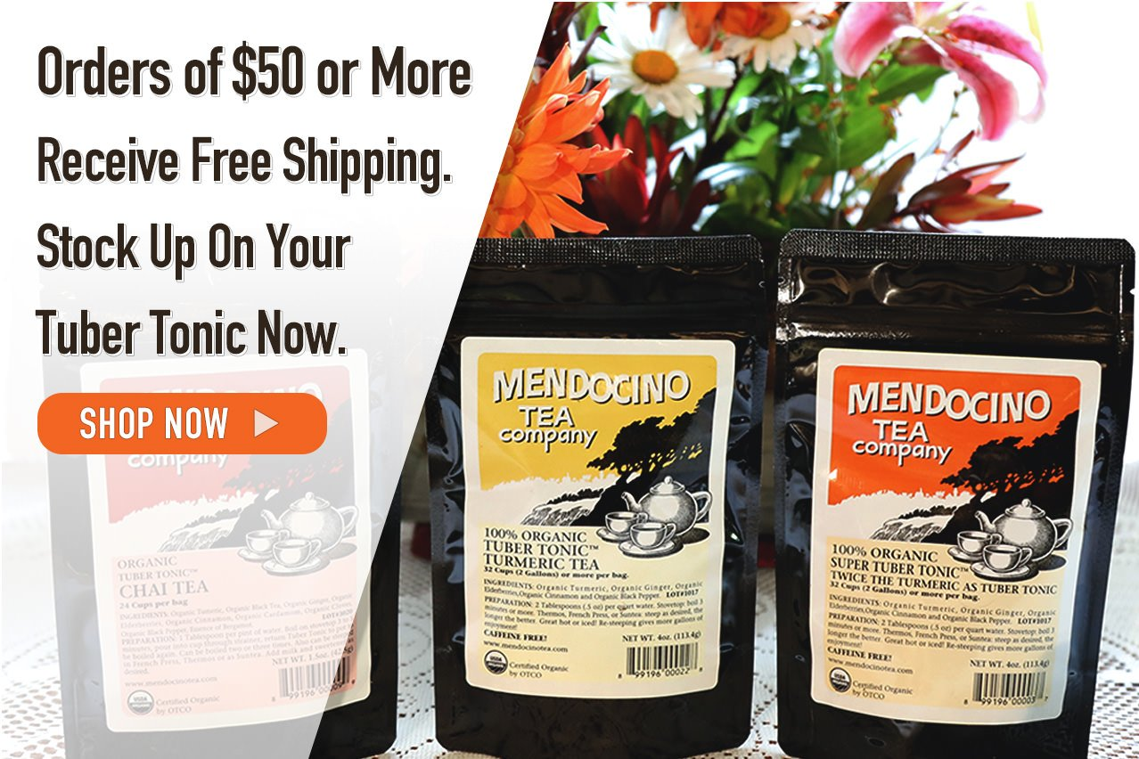 Photo Of Mendocino Tea Tuber Tonic and Free Shipping on orders over $50