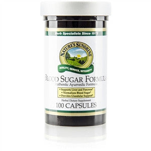 Blood Sugar Formula (100 caps), Ayurvedic