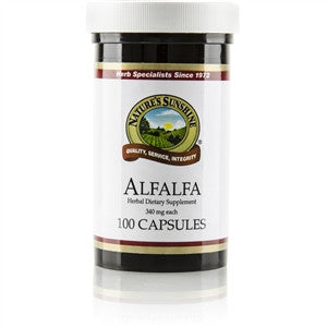 Alfalfa (100 caps) from Nature's Sunshine