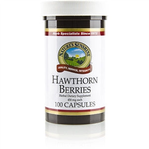 Hawthorn Berries (100 caps)