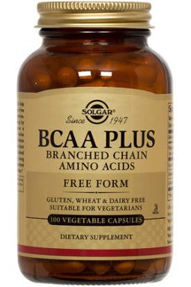 BCAA Plus (Branched Chain Amino Acids) Vegetable Capsules (100)