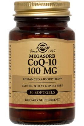 Megasorb CoQ-10 100 mg Softgels (60)