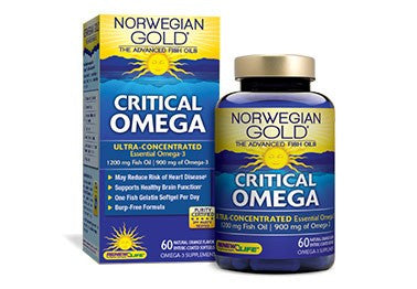 Norwegian Gold Critical Omega (60 caps)