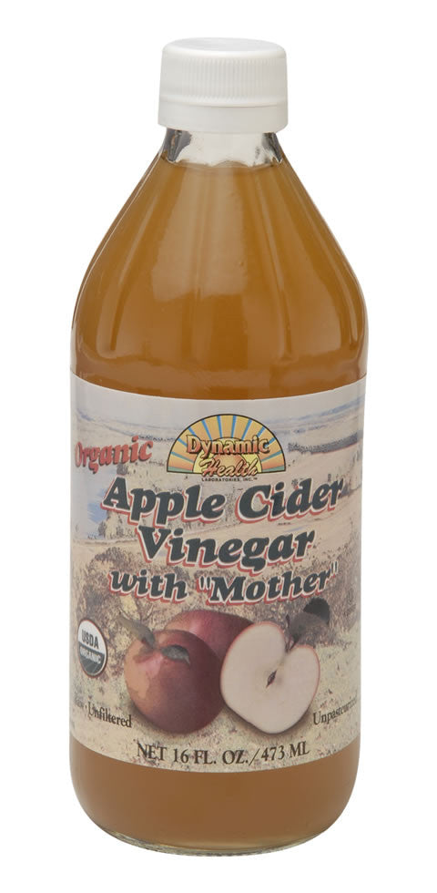 "Dynamic Apple Cider Vinegar with ""Mother"" (multiple varieties)"