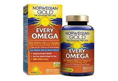 Norwegian Gold EVERY Omega-3•5•6•7•9 (30 caps)