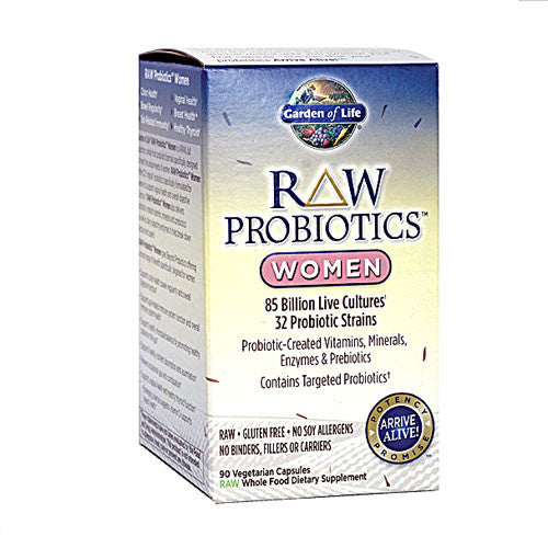 Garden of Life RAW Probiotics™ Women (90 vegetable caps)