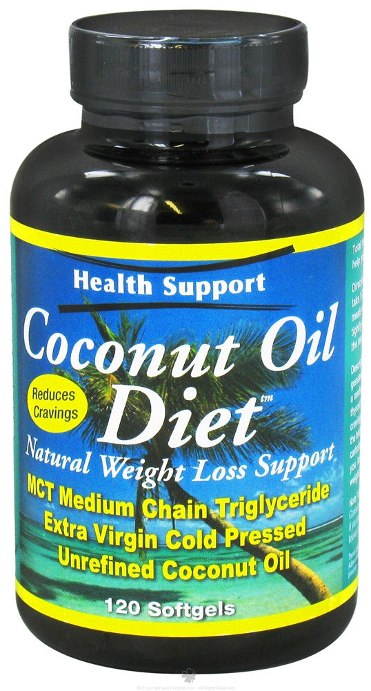 Health Support Coconut Oil Diet™ (120 softgels)