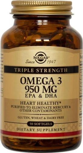 Triple Strength Omega-3 950 mg Softgels (multiple varieties)