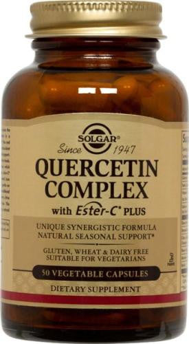 Quercetin Complex Vegetable Capsules (multiple varieties)