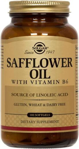 Safflower Oil with Vitamin B6 Softgels