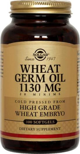 Wheat Germ Oil 1130 mg Softgels (100)