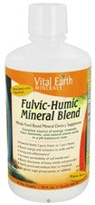 Vital Earth Minerals Fulvic-Humic Blend (32 fl. oz.)