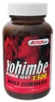 Action Labs Yohimbe Power Max 1500 (30 tabs)