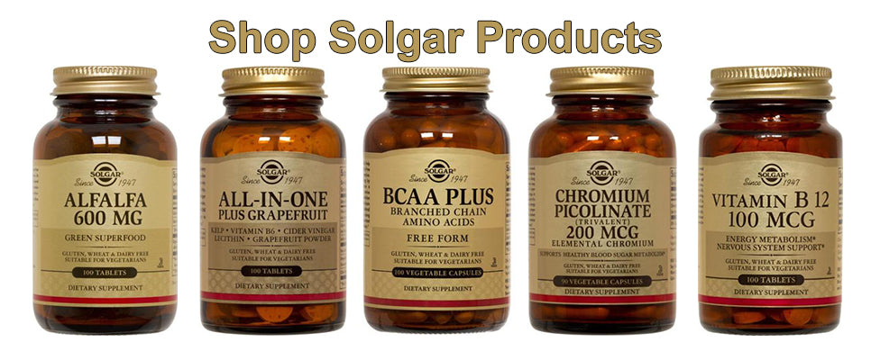 Shop Solgar Products