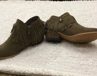 Very Volatile fringe bootie boots Size 7.5