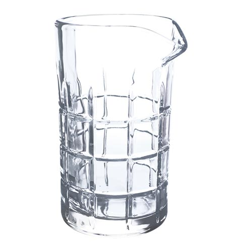 BarConic Ice Block Mixing Glass - Large - 20 oz - CASE OF 12