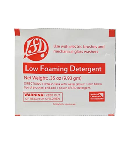 Low Foam Detergent - CASE OF 600