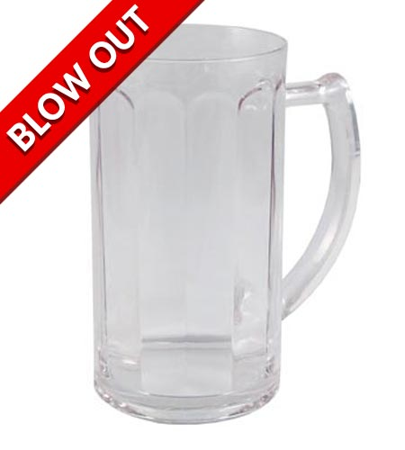 POLYCARBONATE PANELED BEER MUG