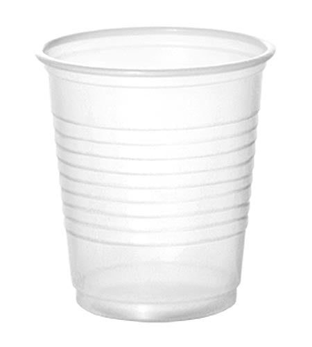 BarConic 3oz translucent plastic shooter glasses - CASE OF 25 / 100 PACK