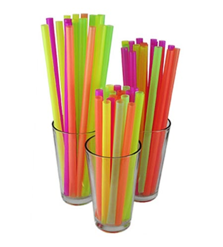Mammoth Extra Wide Straws - CASE OF 24 / 200 PACKS