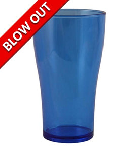 NEON BLUE POLYCARBONATE CUP - 14 OUNCE