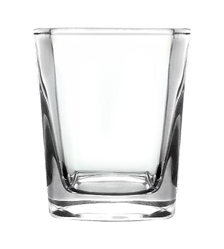 BarConic Square Shot Glass - 2.25 oz - CASE OF 144