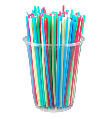 Sip Straw 5.25in - CASE OF 10 / 1000 PACKS