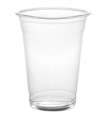 BarConic 12oz clear plastic drink glasses - CASE OF 20 / 50 PACKS