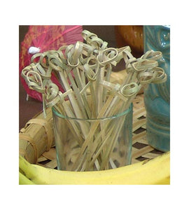 Bamboo Cocktail Picks - 4 inch - CASE OF 20 / 50 PACKS